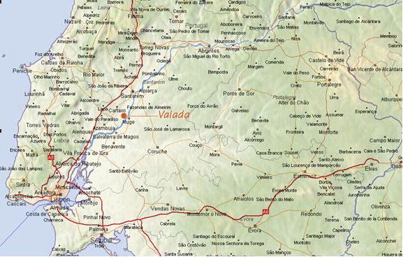 valada do ribatejo mapa Radioamadores.  Eventos valada do ribatejo mapa